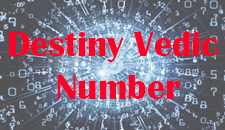 Vedic Destiny Number
